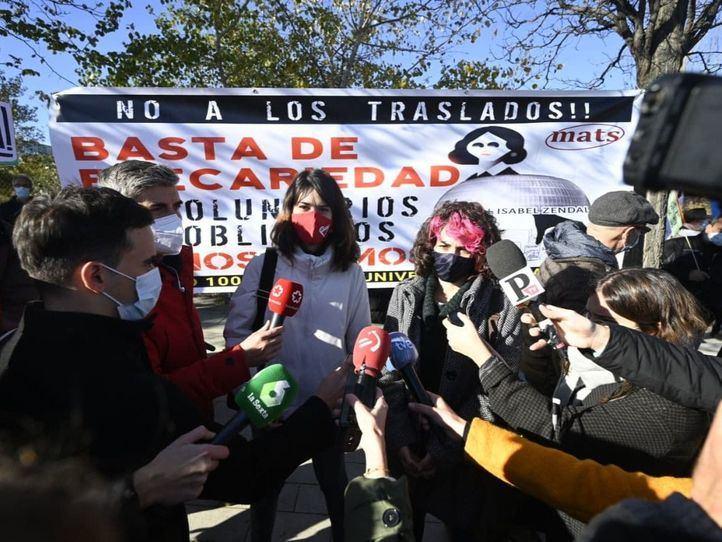 La izquierda de la Asamblea de Madrid tacha de 'chapuza' el Hospital Isabel Zendal