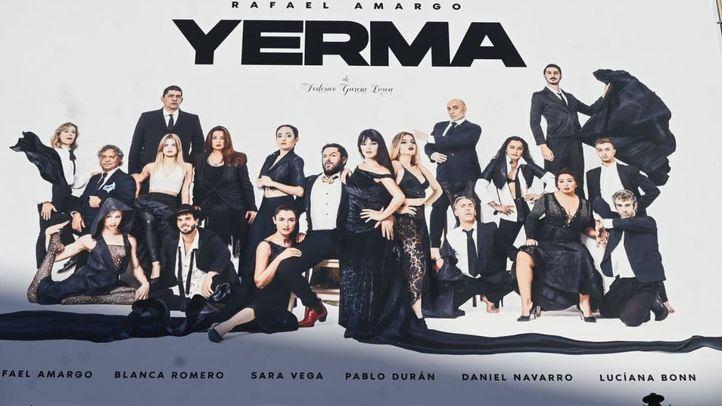 El Teatro La Latina cancela el pase gráfico de 'Yerma' tras la detención de Rafael Amargo