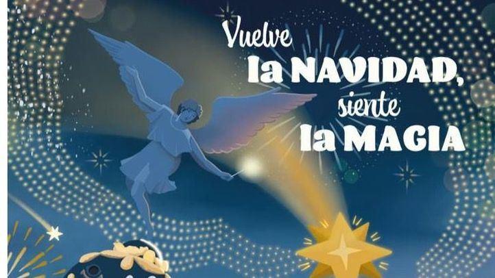 Cartel Navidad 2020/2021 Ayuntamiento de Madrid