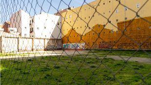 Solar en la calle Bravo Murillo 7, donde se ubicará el polideportivo.