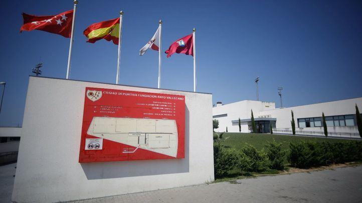 Ciudad deportiva del Rayo Vallecano en el ensanche de Vallecas.