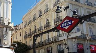 La estación de Metro de Sol cerrará todos los sábados de 19 a 20 horas hasta el 2 de enero