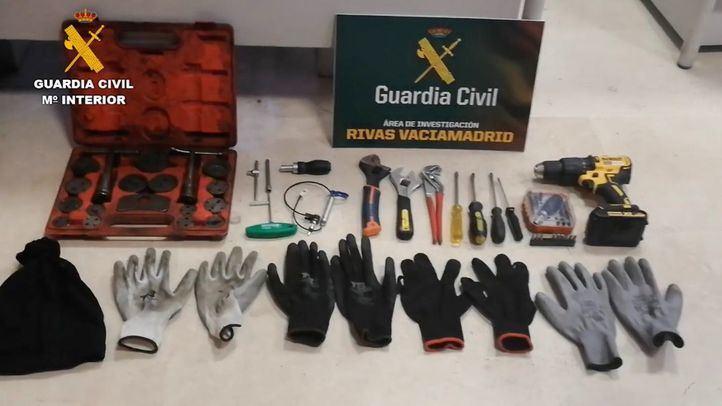 Desmantelada una organización criminal dedicada al robo de establecimientos en Rivas