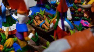 La Casa de México celebra la Navidad con nacimientos mexicanos