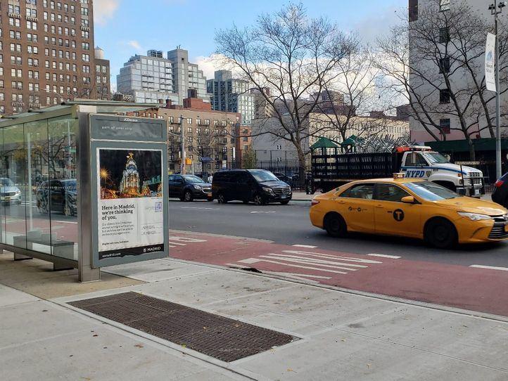 Madrid se promociona en más de 100 marquesinas de Nueva York