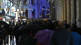 Nueva tarde de aglomeraciones en Madrid