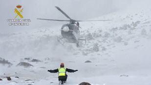 Imagen de archivo de un rescate en el pico de Peñalara