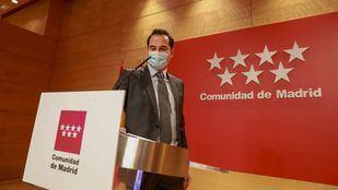 Ignacio Aguado, vicepresidente y portavoz del Gobierno de la Comunidad de Madrid