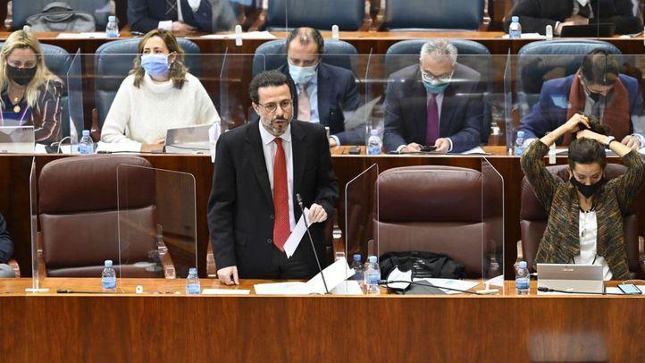 Lasquetty cree que quieren subir impuestos en Madrid para que