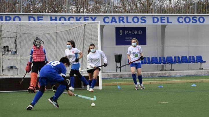 Carabanchel estrena el Campo de Hockey Carlos del Coso