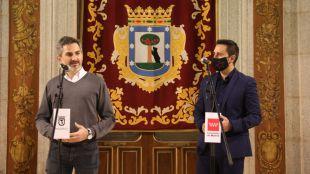 El consejero de Políticas Sociales, Javier Luengo, y el delegado del área de Familias, Igualdad y Bienestar Social del Ayuntamiento de Madrid, Pepe Aniorte, inician los trámites para transformar los Servicios Sociales en Madrid.