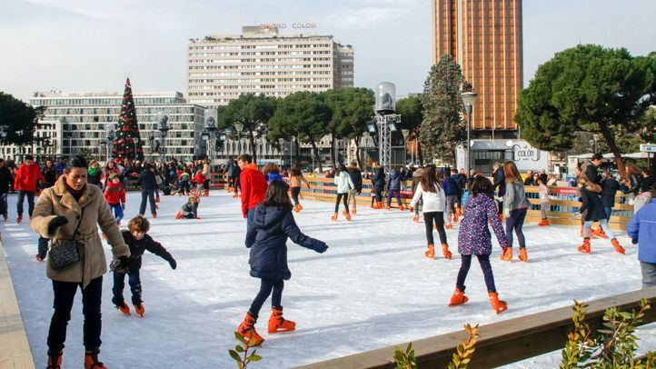 Navidad sobre hielo: estas son las pistas de patinaje de Madrid