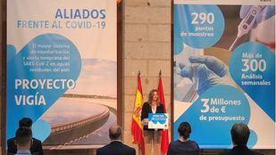 La consejera Paloma Martín presenta el Proyecto Vigía.
