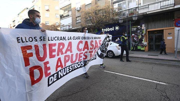 Carabanchel, en contra de la proliferación de casas de apuestas
