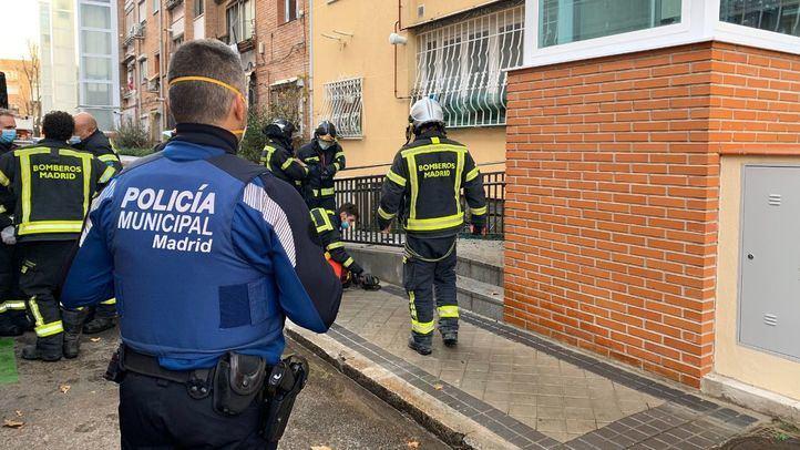 Ingresada con graves quemaduras una anciana por el incendio de su cocina