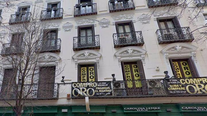 Piso turístico del centro de Madrid en el que han sido detenidas 4 jóvenes