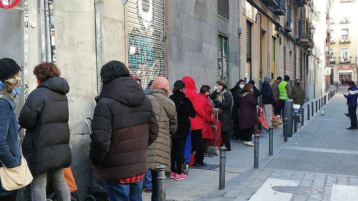 Las despensas solidarias de Lavapiés denuncian la falta de ayudas del Ayuntamiento