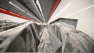 Nueva fecha de apertura de la estación de Gran Vía: verano de 2021