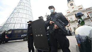 La Policía Nacional desplegará a diario un refuerzo de más de 300 agentes estas navidades