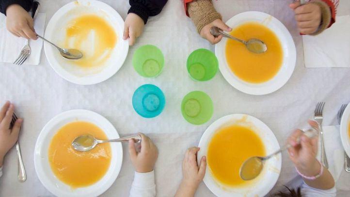 La Comunidad garantizará servicios de comedor escolar en vacaciones para alumnos desfavorecidos