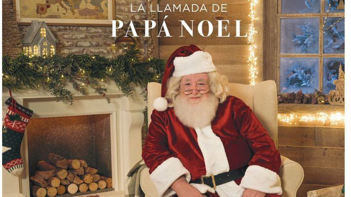 El Corte Inglés invita a los más pequeños a una experiencia mágica con una videollamada de Papá Noel