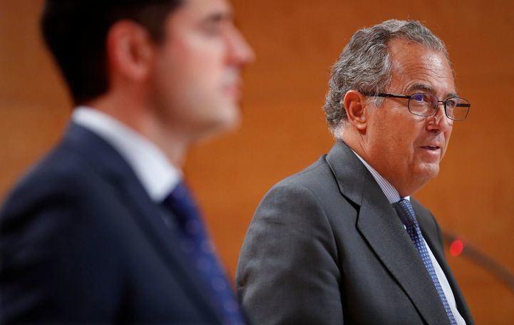El consejero de Educación, Enrique Ossorio.