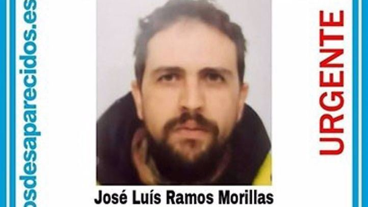 Cartel del desaparecido en El Escorial