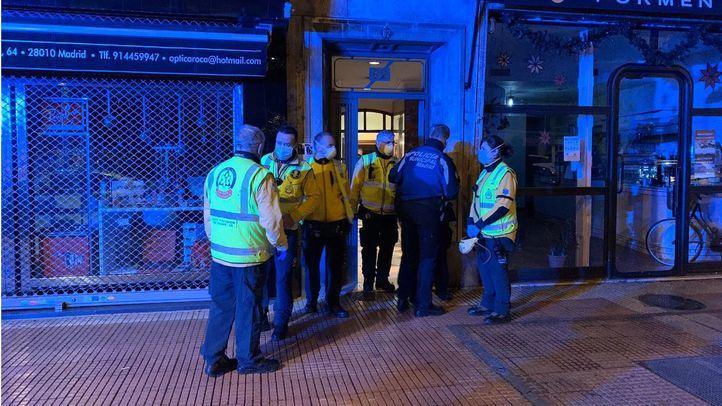 Un hombre muere en Chamberí tras ser apuñalado en varias ocasiones