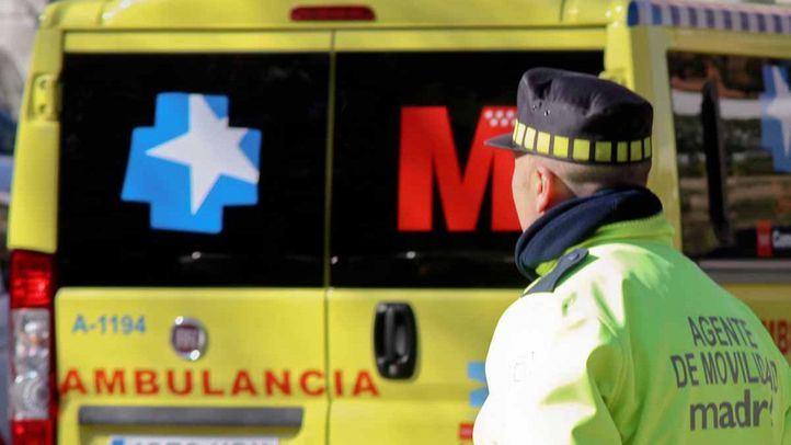 Un fallecido y un herido grave en un choque frontal entre vehículos