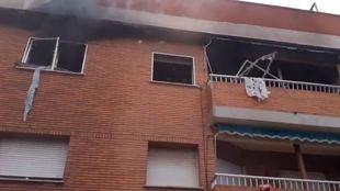 Explosión de gas en un domicilio de Colmenar Viejo