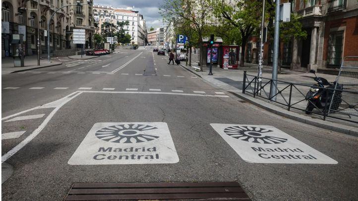 Los vehículos sin etiqueta A seguirán circulando por Madrid Central en casos concretos