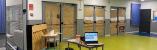 La ventilación inadecuada del centro de música 'Almudena Cano' provoca el traslado de profesores y alumnos