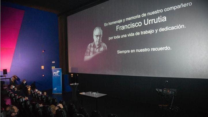 Acto en homenaje a las personas de FCC Medio Ambiente en la delegación de Madrid