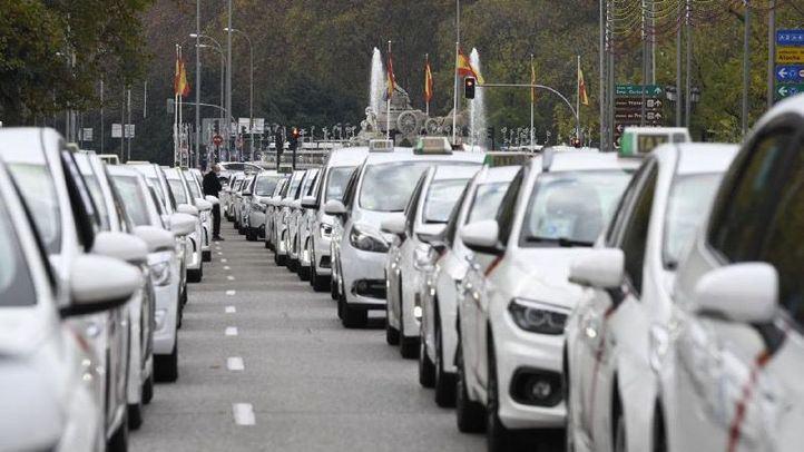 Los taxistas recibirán 5 millones de euros de ayudas directas en 2021