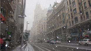 Madrid activa el Plan Nevada ante la drástica bajada de temperaturas