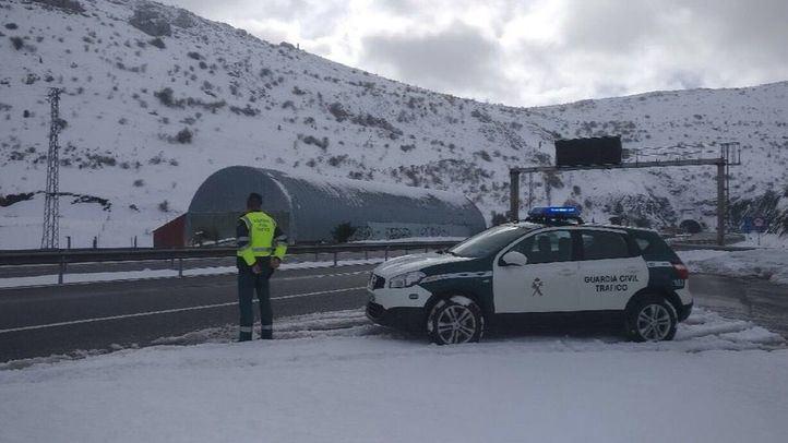 Activado el Plan de Inclemencias Invernales por nieve y viento en la Sierra