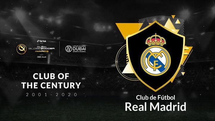 El Real Madrid, elegido mejor club del siglo XXI en los Globe Soccer Awards