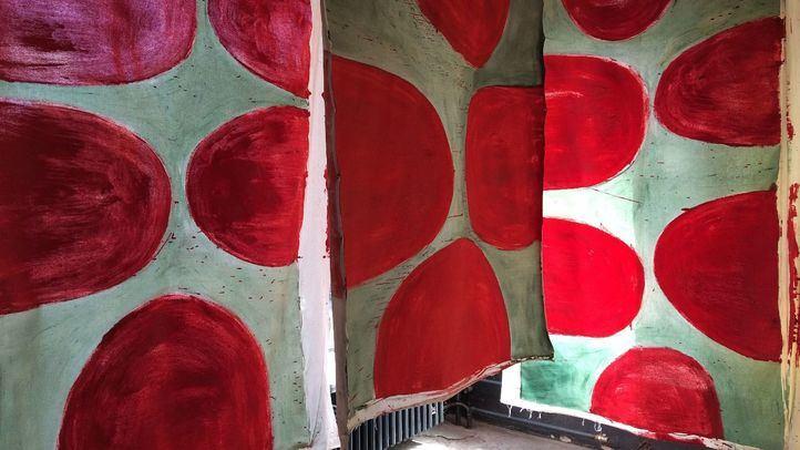 Vivian Suter - Instalación en la Documenta 14, 2017