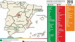 Los ayuntamientos madrileños más 'pobres' en Servicios Sociales en 2019