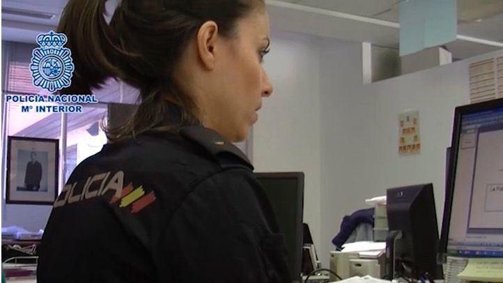Operación policial contra la pornografía infantil, en una imagen de archivo.