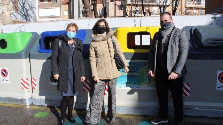 Fuenlabrada demuestra su solidaridad con 'Ahora reciclar también es ayudar'