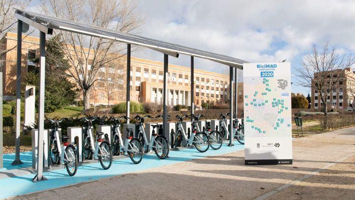 BiciMAD finaliza la ampliación de las 50 estaciones comprometidas en 2020