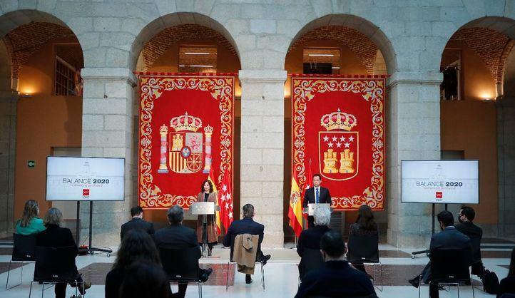 El Gobierno regional resume 2020 como el año del