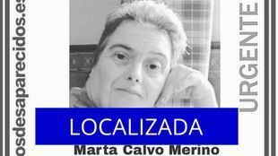 Localizada la mujer de 55 años con síndrome de Down desaparecida en Móstoles