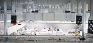 El Hospital Zendal acoge 77 pacientes y cuenta con más de 600 profesionales