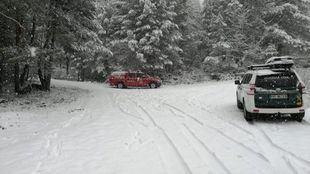Aviso amarillo por nevadas en la Sierra en Nochevieja