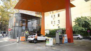 Gasolinera en Madrid.