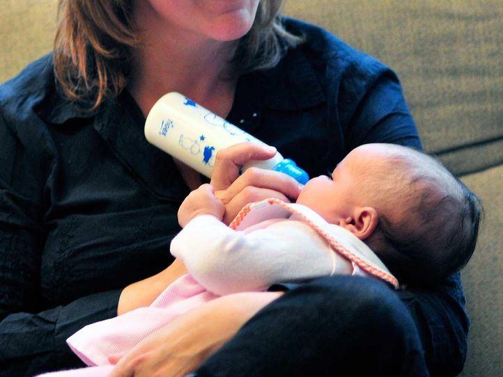 Iris, la primer bebé de 2021 en la Comunidad de Madrid