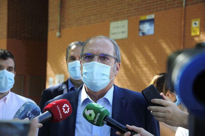 Angel Gabilondo, portavoz del PSOE