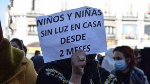 Los afectados por los cortes de luz en la Cañada se manifestarán de nuevo este lunes